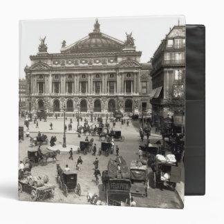 """Vista del teatro de la ópera de París, 1890-99 Carpeta 1 1/2"""""""