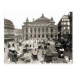 Vista del teatro de la ópera de París, 1890-99 Tarjetas Postales