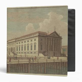 Vista del teatro de la ópera en Berlín, 1773