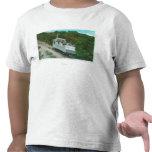 Vista del teleférico de la pendiente del Mt. Lowe Camiseta