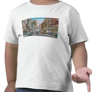 Vista del telégrafo AveOakland, CA Camisetas