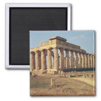 Vista del templo E c 490-480 A C Imán