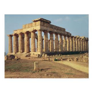 Vista del templo E, c.490-480 A.C. Postales