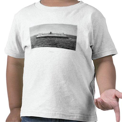 Vista del transbordador de Quinault Camisetas