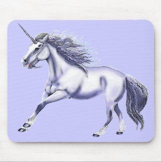 Vista del unicornio tapetes de ratones