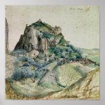 Vista del valle de Arco en el Tyrol, 1495 Poster