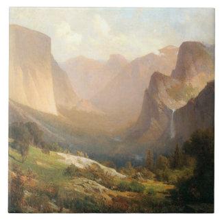Vista del valle de Yosemite - baldosa cerámica gra Teja Ceramica