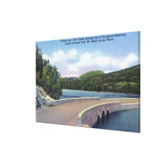 Vista del viaducto de la cala de la nutria, Champl Lona Estirada Galerias