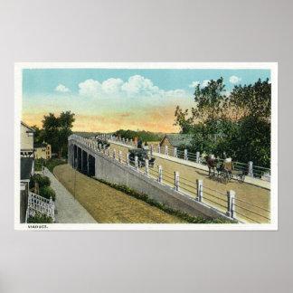 Vista del viaducto poster