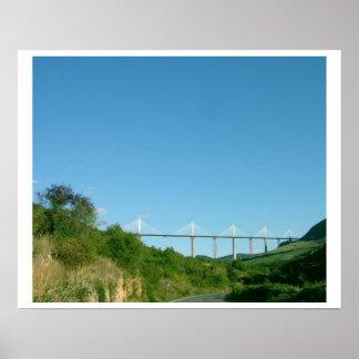 Vista del viaducto, terminada en diciembre de 2004 impresiones