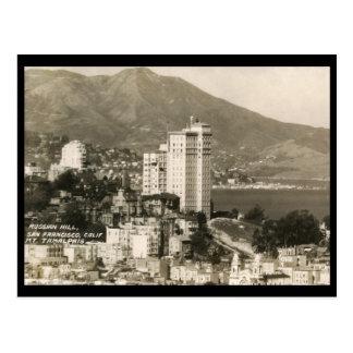 Vista del vintage de San Francisco Postal