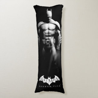Vista delantera B/W de Batman Almohada