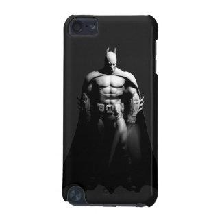Vista delantera B/W de Batman Funda Para iPod Touch 5G