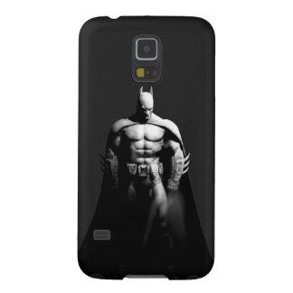 Vista delantera B/W de Batman Fundas De Galaxy S5