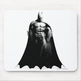 Vista delantera B/W de Batman Tapete De Raton