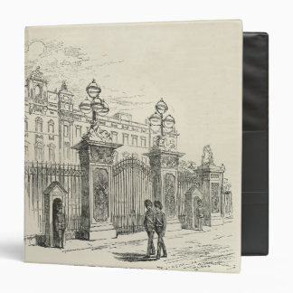 "Vista delantera del Buckingham Palace Carpeta 1 1/2"""