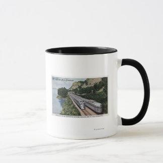 Vista Dome Twin Zephers Railroad Mug