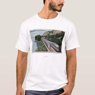 Vista Dome Twin Zephers Railroad T-Shirt