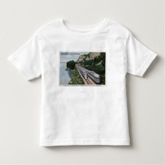Vista Dome Twin Zephers Railroad Toddler T-shirt