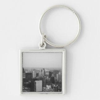Vista dramática de Manhattan Llaveros Personalizados