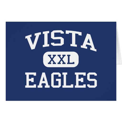 Vista Eagles Middle Las Cruces New Mexico Card