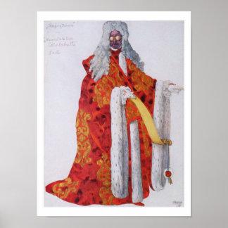 Vista el diseño para el mariscal Cantalabutte, de  Póster