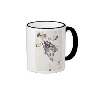 Vista el diseño para el Pageboy de la lila de hada Taza De Café