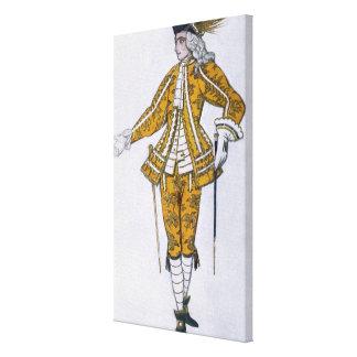 Vista el diseño para el Pageboy del canario de had Impresiones De Lienzo