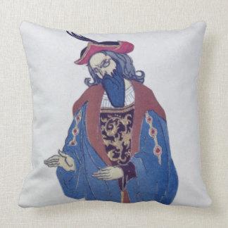 Vista el diseño para la Azul-Barba, del Beaut el Cojín Decorativo