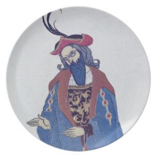 Vista el diseño para la Azul-Barba, del Beaut el d Plato
