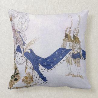 Vista el diseño para la reina y sus páginas, de S Cojín Decorativo