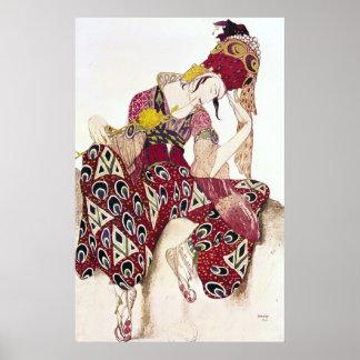 Vista el diseño para Nijinsky en La del ballet ' Impresiones