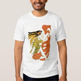 Vista el diseño para una bacante en 'Narcisse Remera