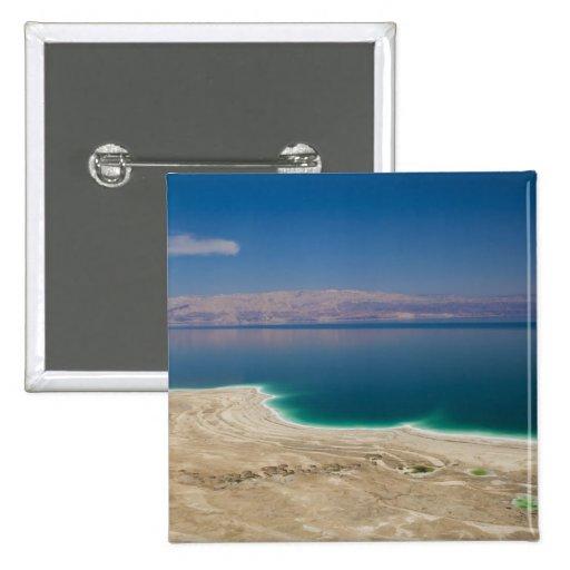Vista elevada del mar muerto pin