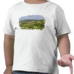 Vista escénica de las tierras de labrantío al sur camiseta