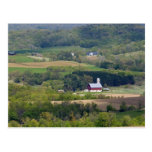 Vista escénica de las tierras de labrantío al sur tarjetas postales