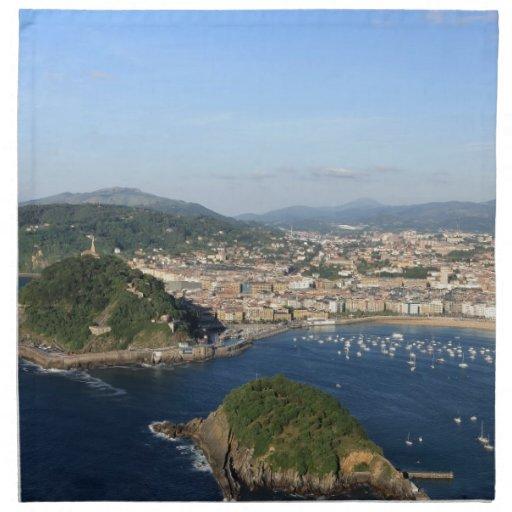 Vista escénica de San Sebastián Servilleta