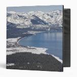 Vista escénica del lago Tahoe, los E.E.U.U.