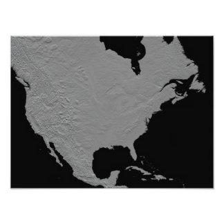 Vista estereoscópica de Norteamérica Fotografías