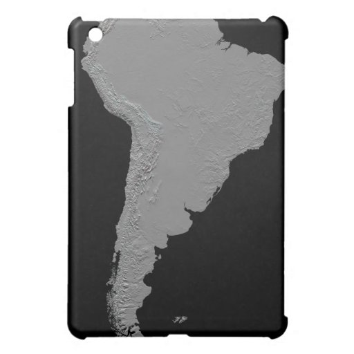 Vista estereoscópica de Suramérica