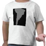 Vista estereoscópica de Suramérica Camisetas