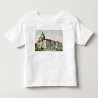 Vista exterior de la casa del estado # 2 t shirts