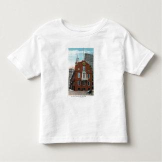 Vista exterior de la casa vieja del estado # 2 camiseta