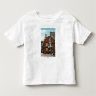 Vista exterior de la casa vieja del estado # 2 t shirts