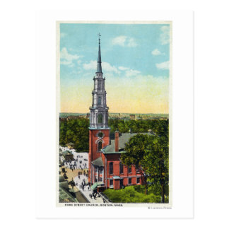 Vista exterior de la iglesia de la calle del postal