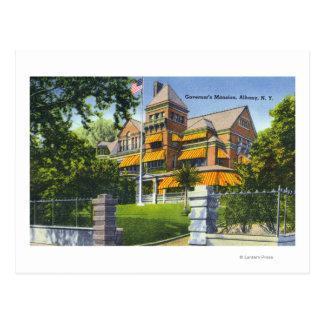 Vista exterior de la mansión del gobernador postales