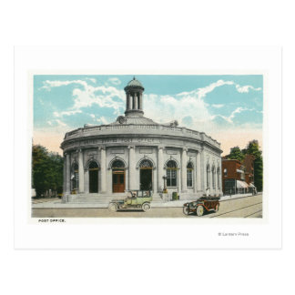 Vista exterior de la oficina de correos 2 tarjetas postales