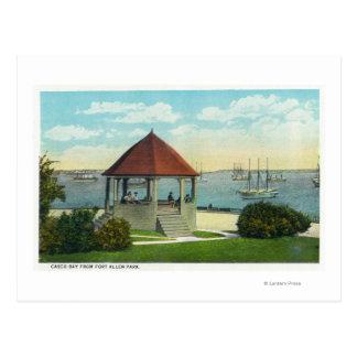 Vista exterior de la perla de la isla de Orr Tarjeta Postal