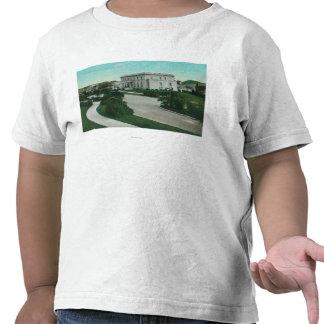 Vista exterior de la terraza de Presidio Camisetas