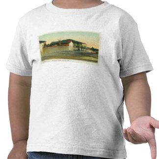 Vista exterior de los cuartos de Sherman y de Camiseta
